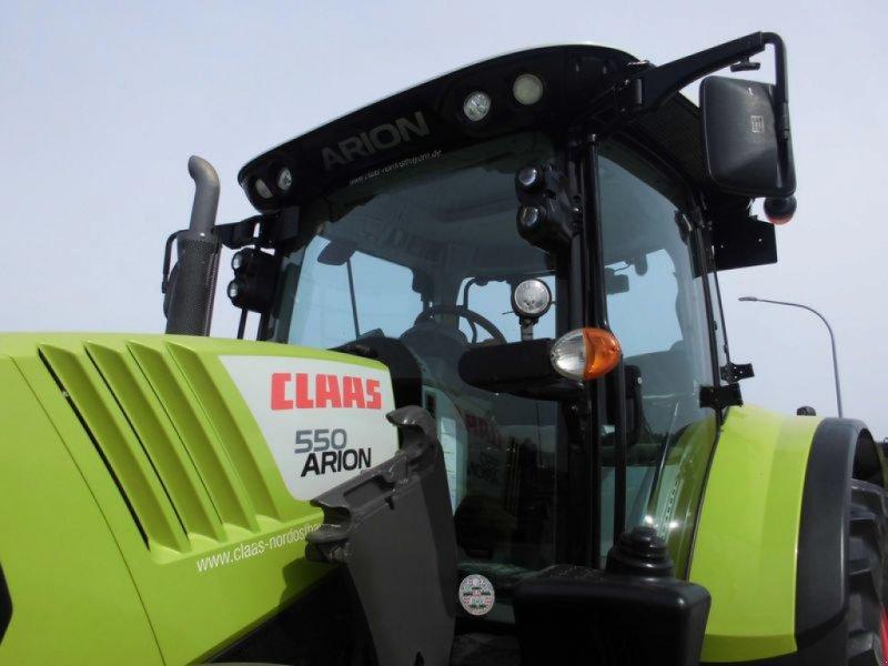Traktor des Typs CLAAS ARION 550 CEBIS, Gebrauchtmaschine in Birgland (Bild 15)