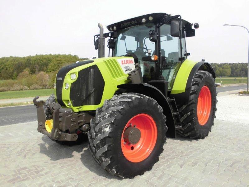 Traktor des Typs CLAAS ARION 550 CEBIS, Gebrauchtmaschine in Birgland (Bild 1)