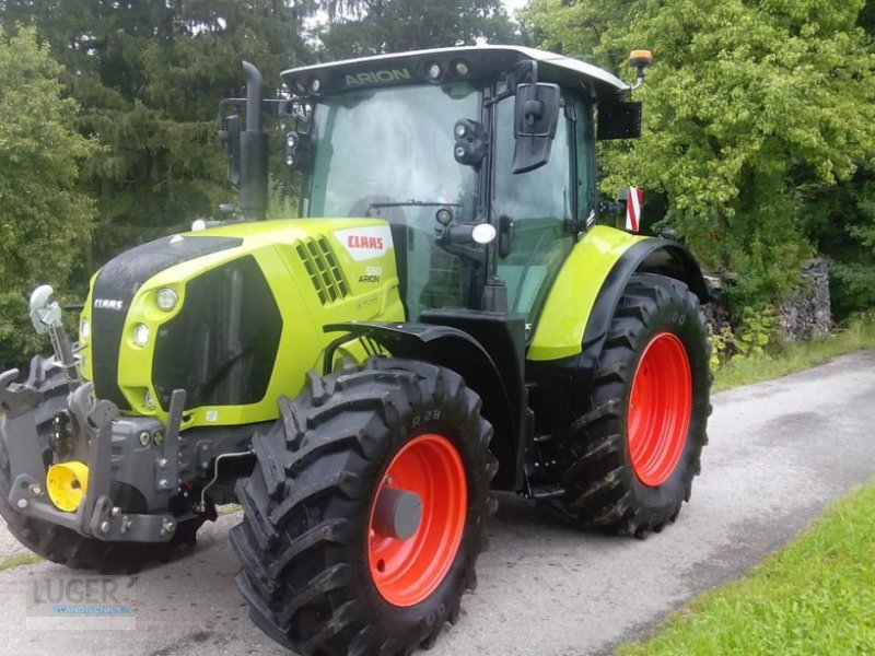 Traktor типа CLAAS Arion 550 CMATIC CEBIS, Gebrauchtmaschine в Niederkappel (Фотография 1)