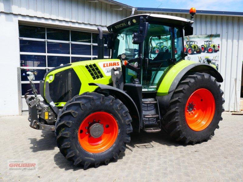 Traktor типа CLAAS ARION 550 CMATIC CEBIS, Gebrauchtmaschine в Dorfen (Фотография 1)