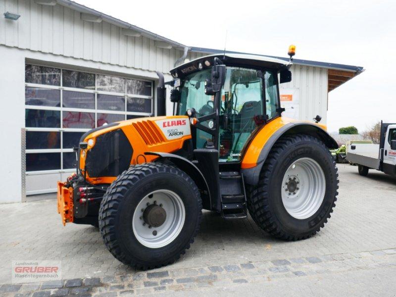 Traktor типа CLAAS Arion 550 CMATIC - Kommunal, Gebrauchtmaschine в Dorfen (Фотография 1)