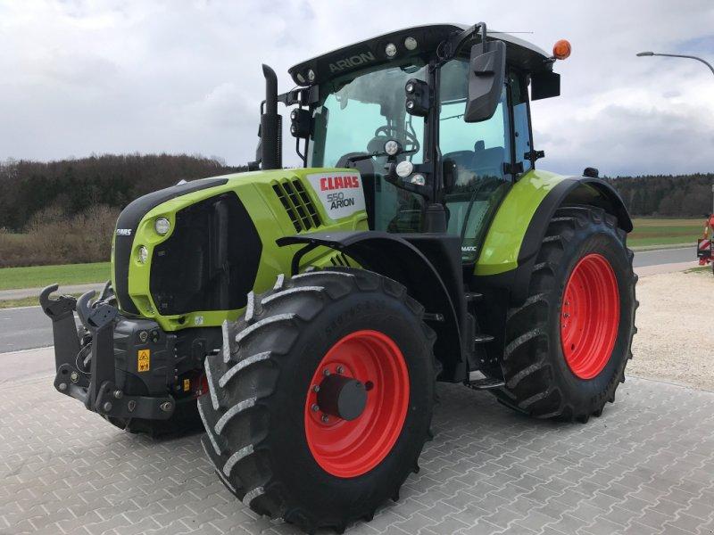 Traktor des Typs CLAAS Arion 550 Cmatic, Gebrauchtmaschine in Schwend (Bild 1)