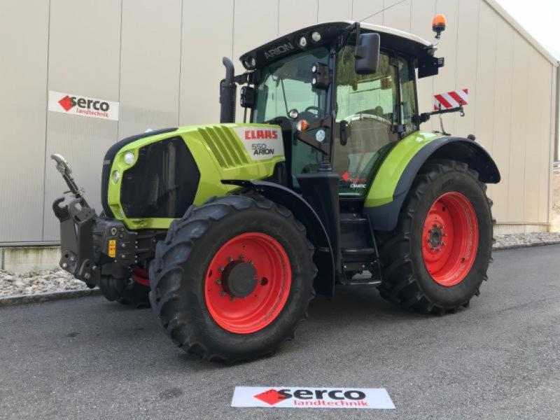 Traktor типа CLAAS ARION 550 CMATIC, Gebrauchtmaschine в Oberbipp (Фотография 1)