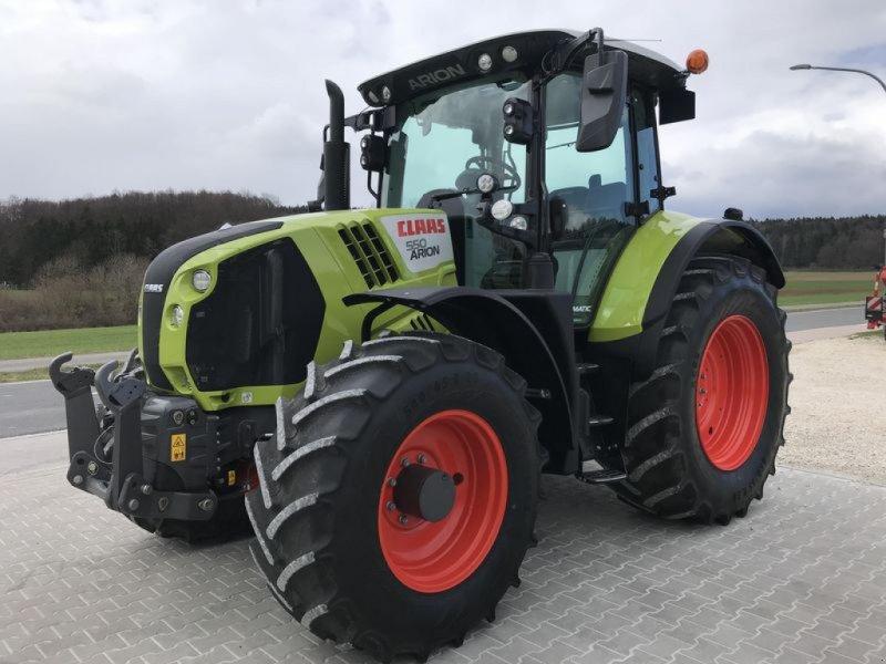 Traktor типа CLAAS ARION 550 CMATIC, Gebrauchtmaschine в Birgland (Фотография 1)