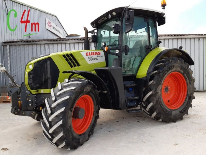 Traktor of the type CLAAS ARION 610 C, Gebrauchtmaschine in POUSSAY (Picture 1)