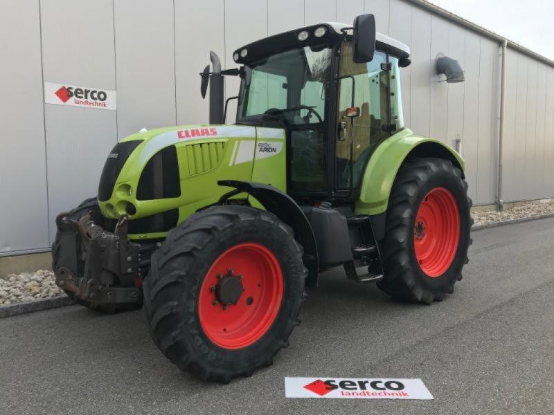 Traktor типа CLAAS ARION 610 C, Gebrauchtmaschine в Oberbipp (Фотография 1)