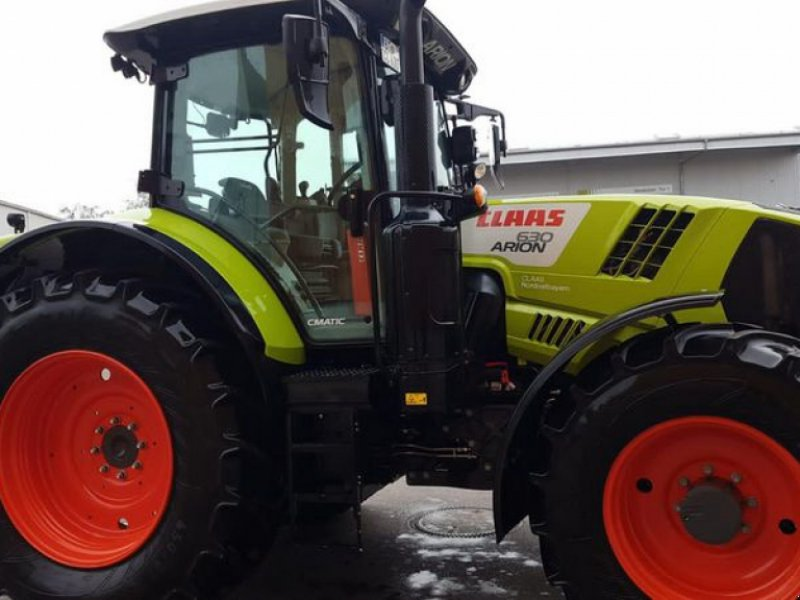 Traktor типа CLAAS ARION 630 CMATIC  CIS+ CLAAS T, Vorführmaschine в Cham (Фотография 1)