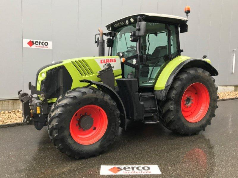 Traktor типа CLAAS Arion 630 CMATIC, Gebrauchtmaschine в Oberbipp (Фотография 1)