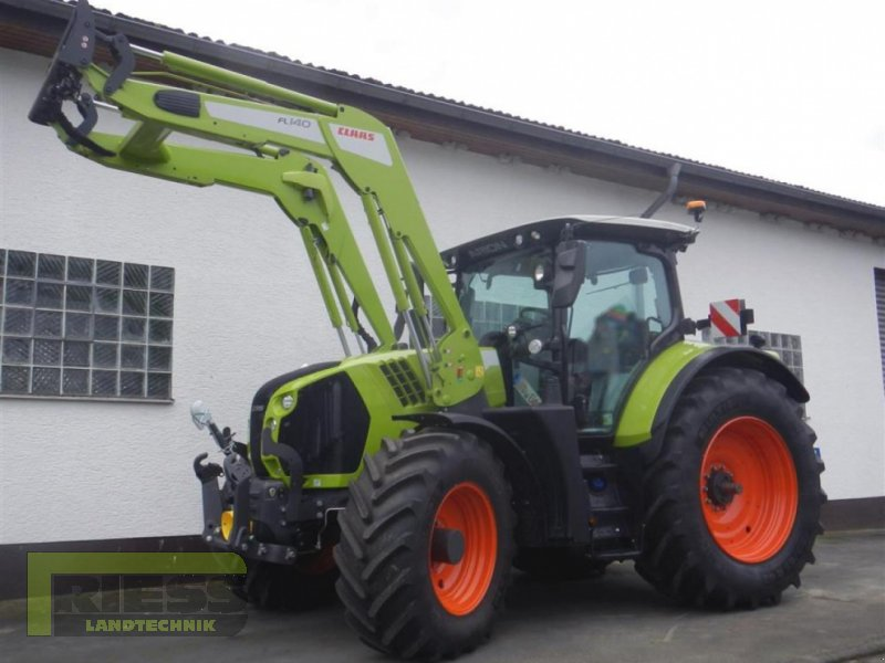 Traktor a típus CLAAS ARION 630CEBIS FL140, Gebrauchtmaschine ekkor: Homberg (Ohm) - Maulbach (Kép 1)