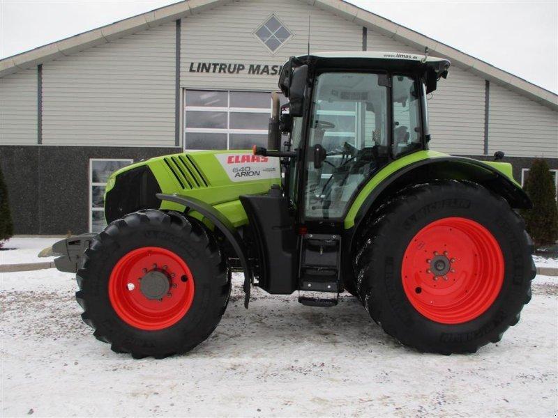 Traktor a típus CLAAS Arion 640 Affedet foraksel og affedet kabine., Gebrauchtmaschine ekkor: Lintrup (Kép 1)