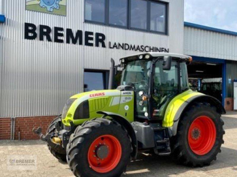 Traktor типа CLAAS ARION 640 CEBIS, FH, FZ, 50 km/h, gef Vorderachse, Gebrauchtmaschine в Asendorf (Фотография 1)