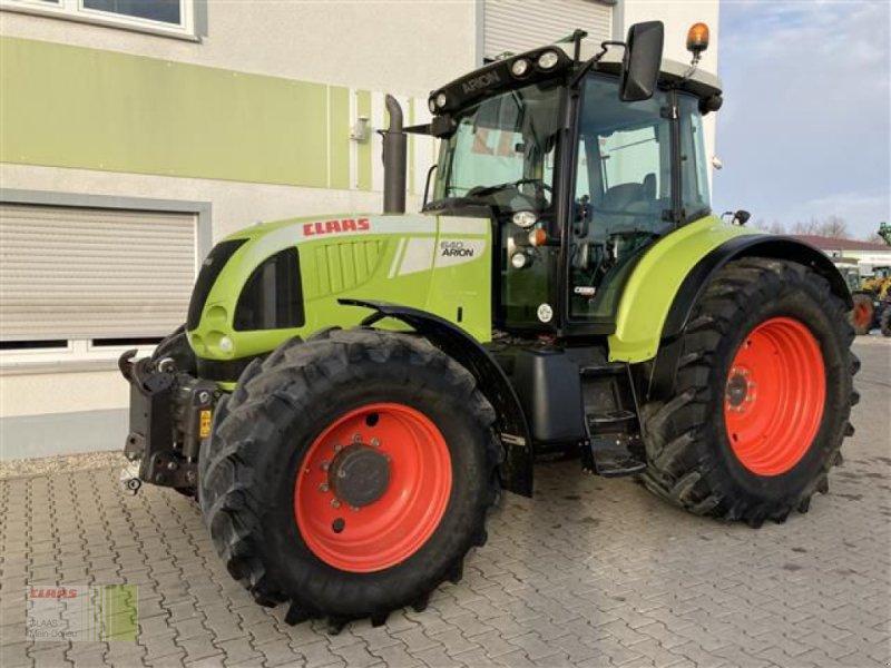 Traktor des Typs CLAAS ARION 640 CEBIS, Gebrauchtmaschine in Aurach (Bild 6)