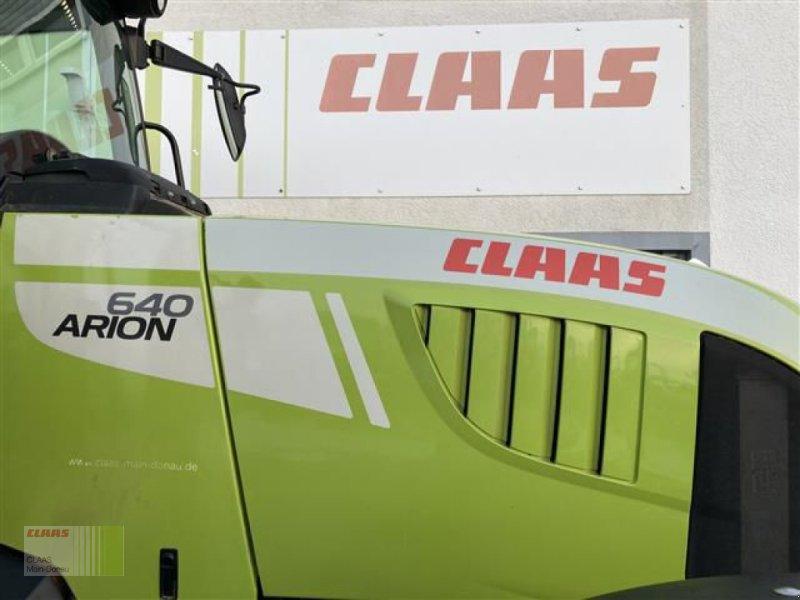Traktor des Typs CLAAS ARION 640 CEBIS, Gebrauchtmaschine in Aurach (Bild 18)