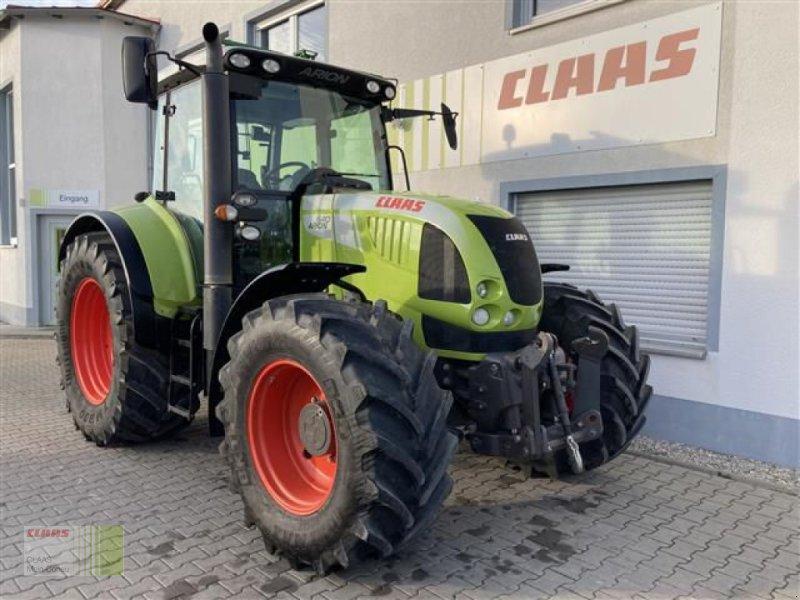 Traktor des Typs CLAAS ARION 640 CEBIS, Gebrauchtmaschine in Aurach (Bild 2)