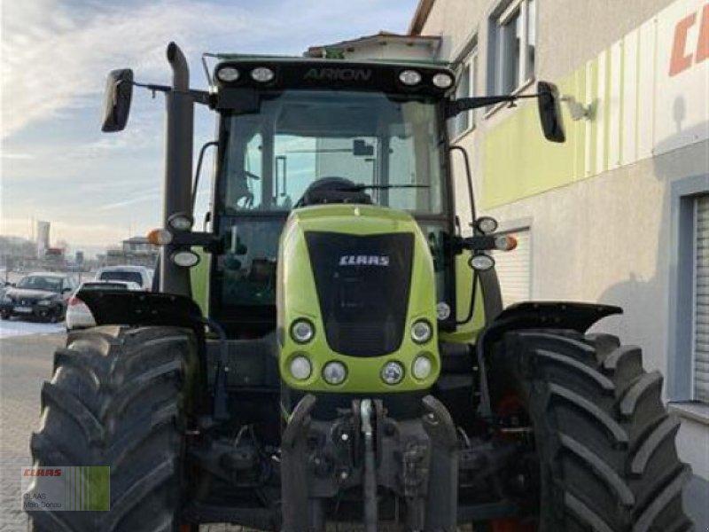 Traktor des Typs CLAAS ARION 640 CEBIS, Gebrauchtmaschine in Aurach (Bild 8)