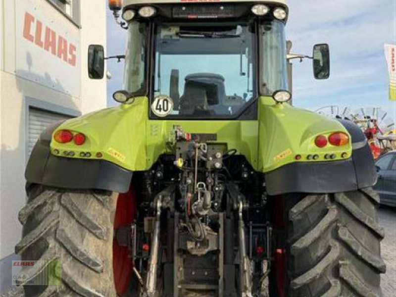 Traktor des Typs CLAAS ARION 640 CEBIS, Gebrauchtmaschine in Aurach (Bild 12)