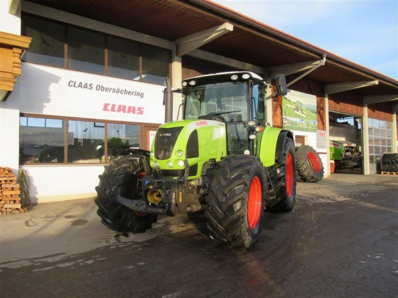 Traktor des Typs CLAAS ARION 640 CEBIS, Gebrauchtmaschine in Obersöchering (Bild 1)