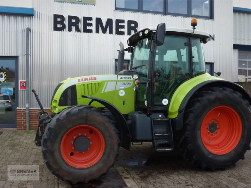 Traktor a típus CLAAS ARION 640 CIS, LS Hydraulik, ISOBUS, Gebrauchtmaschine ekkor: Asendorf (Kép 1)