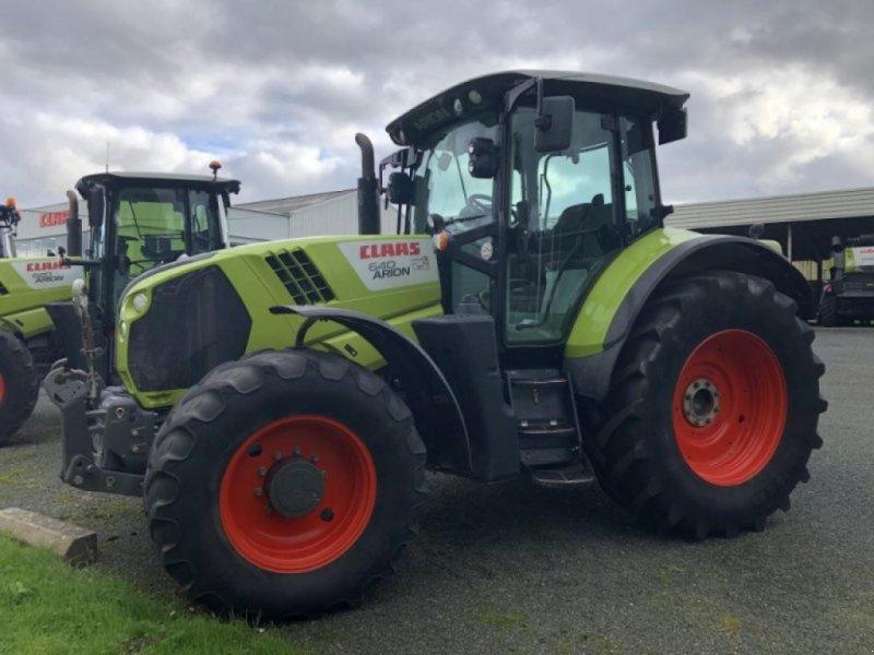 Traktor типа CLAAS arion 640 cis t4i, Gebrauchtmaschine в 610 PLOUIGNEAU (Фотография 1)