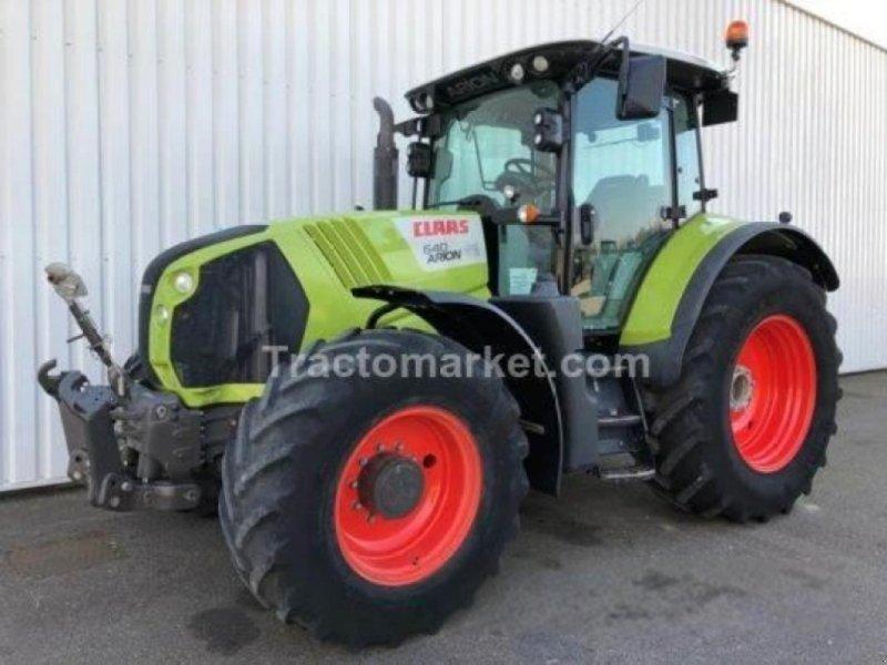 Traktor типа CLAAS arion 640 cis t4i, Gebrauchtmaschine в SARRE - UNION (Фотография 1)
