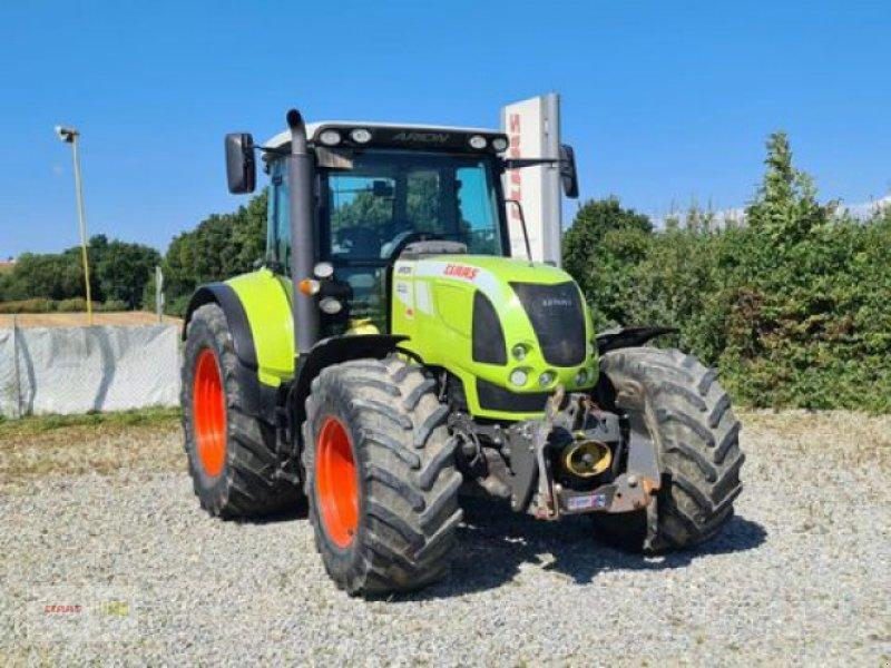 Traktor des Typs CLAAS ARION 640 CIS, Gebrauchtmaschine in Mengkofen (Bild 1)