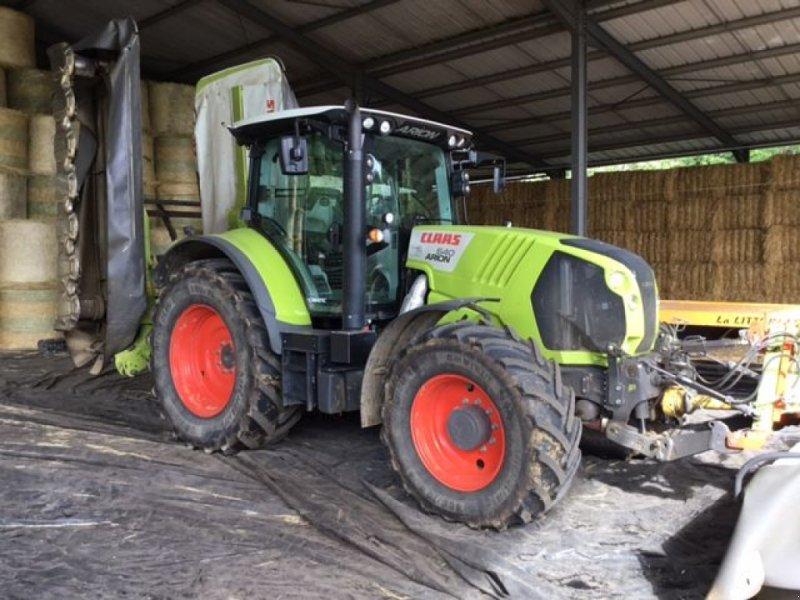 Traktor типа CLAAS ARION 640 CMATIC, Gebrauchtmaschine в JOZE (Фотография 1)