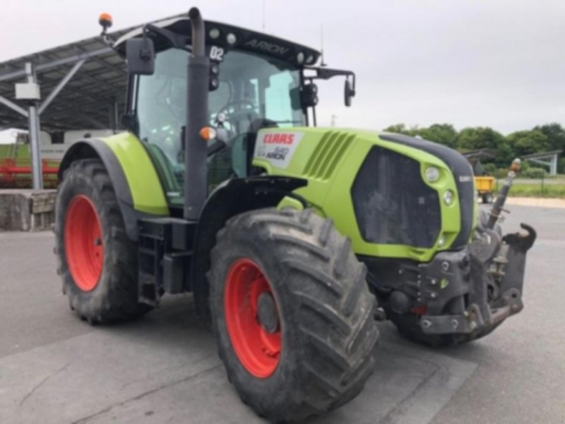 Traktor типа CLAAS arion 640 cmatic, Gebrauchtmaschine в AIGREFEUILLE D'AUNIS (Фотография 1)