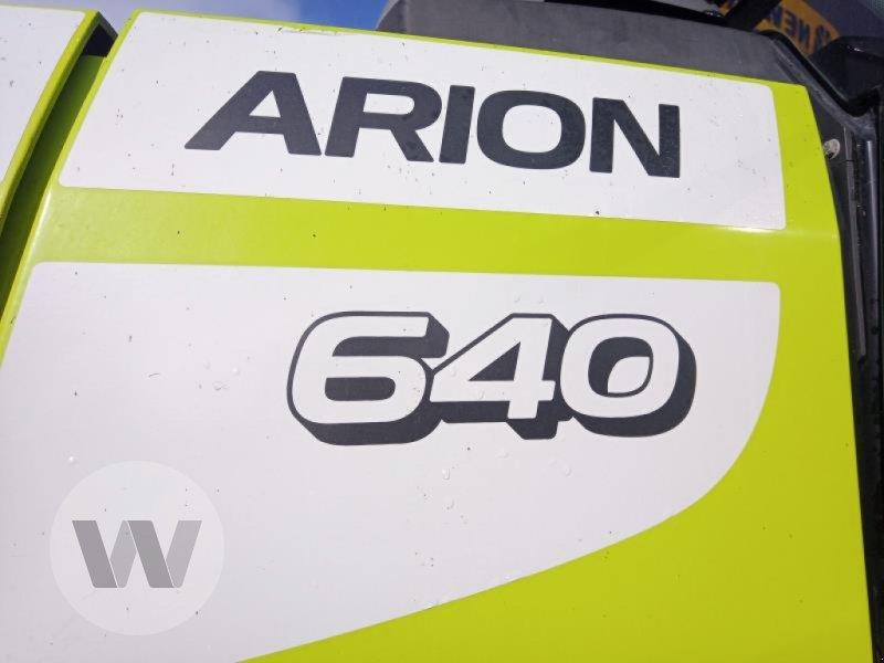 Traktor des Typs CLAAS ARION 640, Gebrauchtmaschine in Husum (Bild 5)