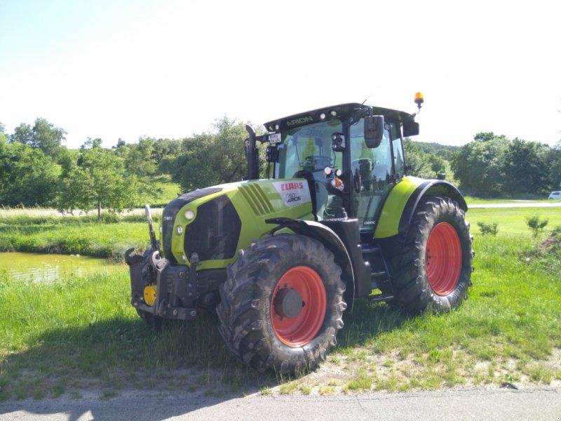Traktor типа CLAAS Arion 650 C-MATIC, Gebrauchtmaschine в Ansbach (Фотография 1)