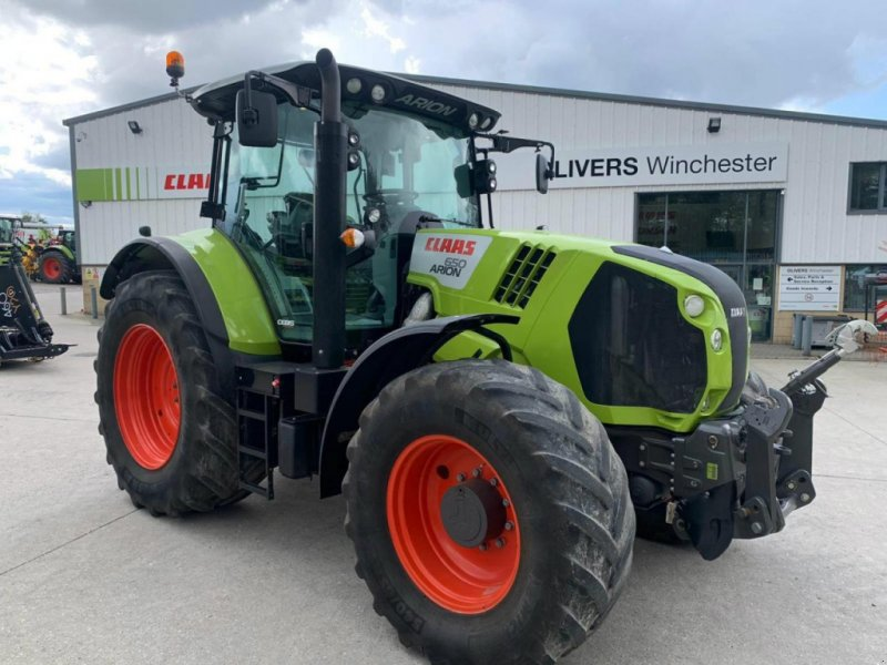 Traktor tipa CLAAS ARION 650 CEBIS 50k, Gebrauchtmaschine u  (Slika 1)