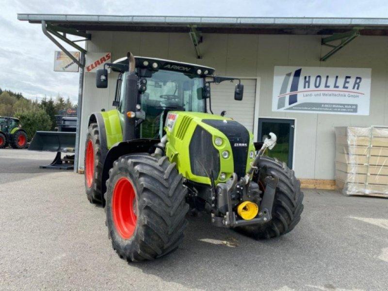 Traktor des Typs CLAAS arion 650 cebis cmatic, Gebrauchtmaschine in MÜHLEN (Bild 1)