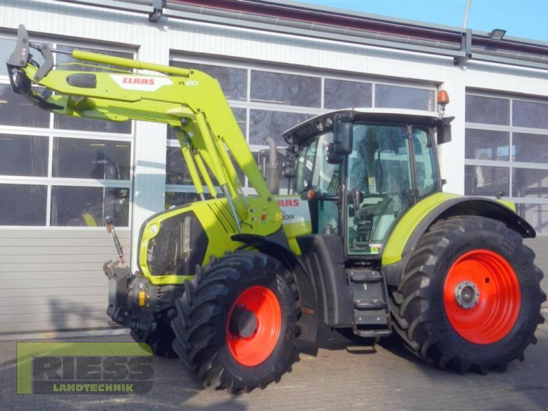 Traktor del tipo CLAAS ARION 650 CEBIS + FL, Gebrauchtmaschine en Homberg (Ohm) - Maulbach (Imagen 1)