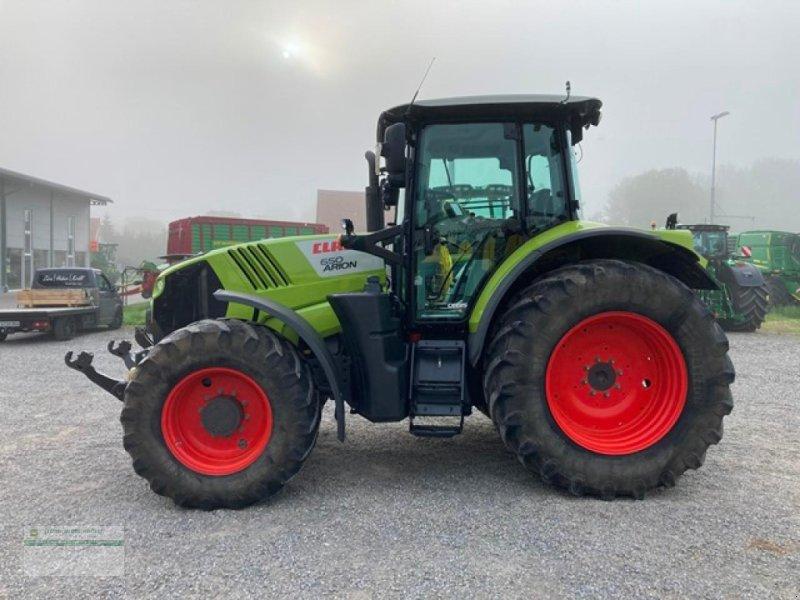 Traktor des Typs CLAAS Arion 650 Cebis Hexa, Gebrauchtmaschine in Kanzach (Bild 1)