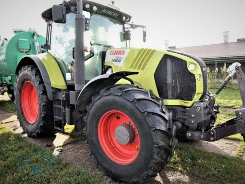 Traktor des Typs CLAAS Arion 650 CEBIS, Gebrauchtmaschine in Heideblick (Bild 1)