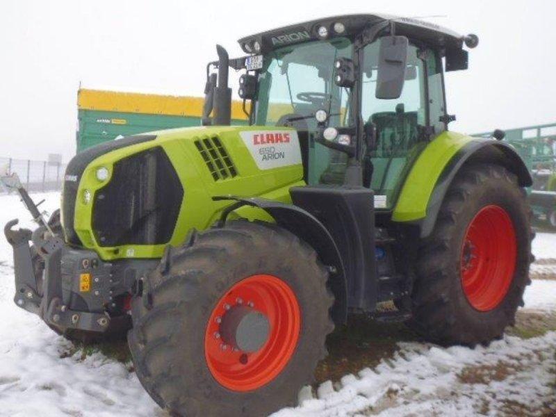 Traktor des Typs CLAAS Arion 650 CEBIS, Gebrauchtmaschine in Grimma (Bild 1)