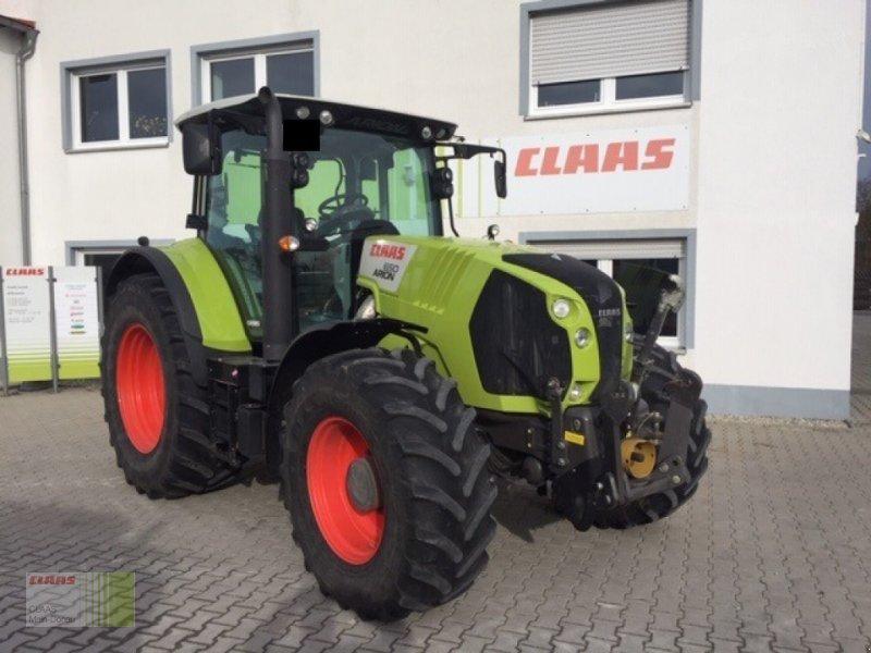 Traktor des Typs CLAAS Arion 650 CEBIS, Gebrauchtmaschine in Aurach (Bild 1)