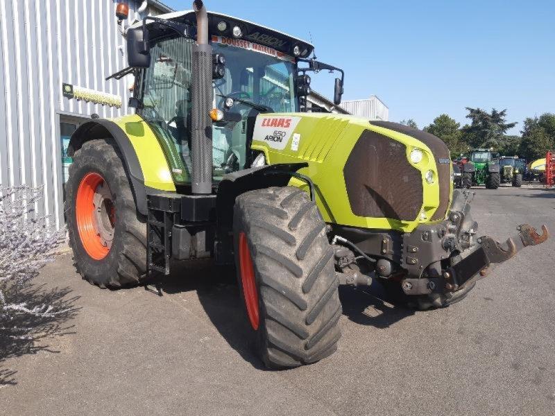 Traktor des Typs CLAAS ARION 650 CEBIS, Gebrauchtmaschine in SAINT GENEST D'AMBIERE (Bild 1)
