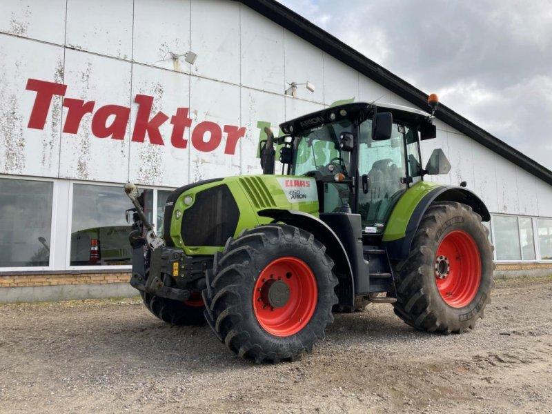 Traktor des Typs CLAAS ARION 650 CEBIS, Gebrauchtmaschine in Brønderslev (Bild 1)
