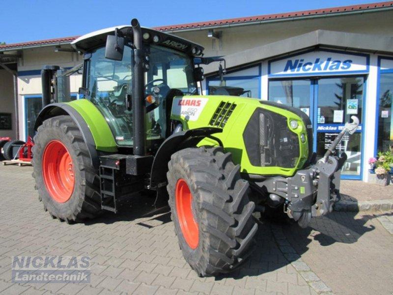 Traktor del tipo CLAAS Arion 650 Cebis, Gebrauchtmaschine en Schirradorf (Imagen 1)