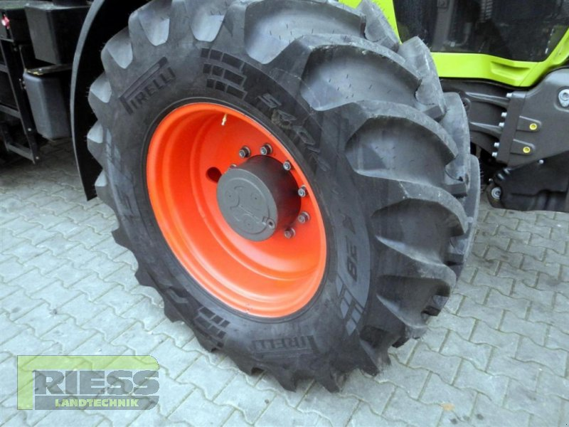 Traktor типа CLAAS ARION 650 CEBIS, Gebrauchtmaschine в Homberg (Ohm) - Maul (Фотография 9)