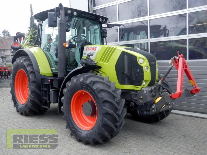 Traktor типа CLAAS ARION 650 CEBIS, Gebrauchtmaschine в Homberg (Ohm) - Maul (Фотография 2)