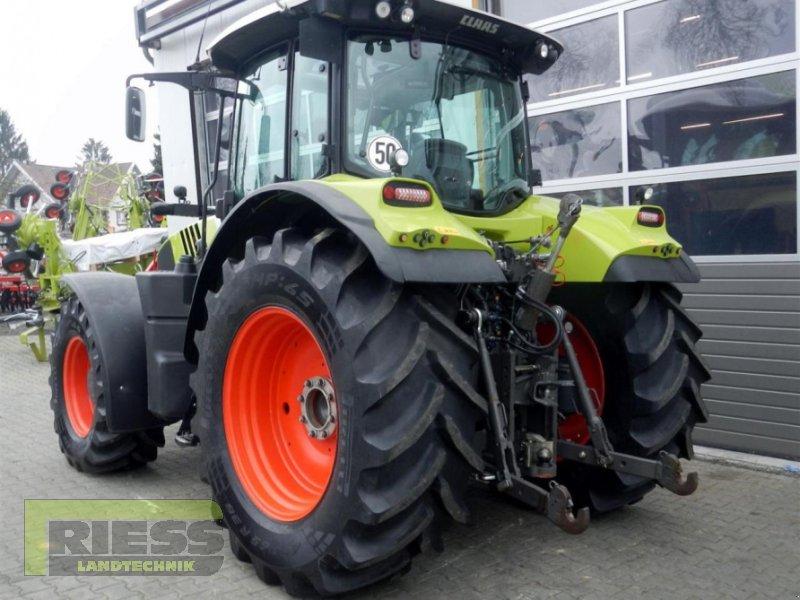 Traktor типа CLAAS ARION 650 CEBIS, Gebrauchtmaschine в Homberg (Ohm) - Maul (Фотография 7)