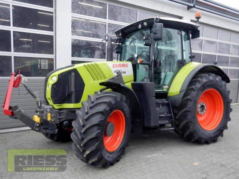 Traktor des Typs CLAAS ARION 650 CEBIS, Gebrauchtmaschine in Homberg (Ohm) - Maulbach (Bild 1)