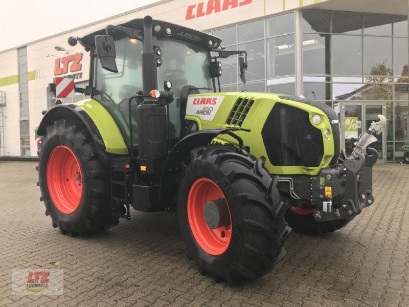 Traktor del tipo CLAAS ARION 650 CIS+ CLAAS TRAKTOR, Neumaschine en Hartmannsdorf (Imagen 1)