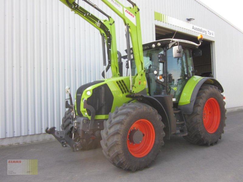 Traktor des Typs CLAAS ARION 650 CIS, Frontlader FL 120 C, Gebrauchtmaschine in Molbergen (Bild 1)