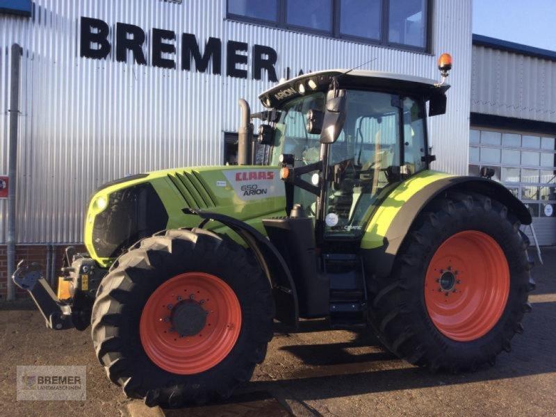 Traktor des Typs CLAAS ARION 650 CMATIC CEBIS, 42 Zoll Bereifung, GPS Ready. Aus dem Claas Marketing Fuhrpark, Gebrauchtmaschine in Asendorf (Bild 1)