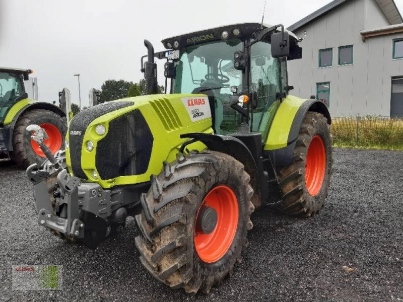 Traktor des Typs CLAAS ARION 650 CMATIC CEBIS, Gebrauchtmaschine in Schenefeld (Bild 1)