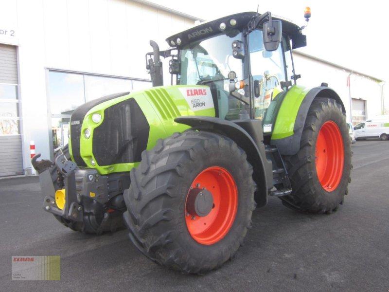 Traktor des Typs CLAAS ARION 650 CMATIC, FKH + FZW, Gebrauchtmaschine in Ankum (Bild 1)