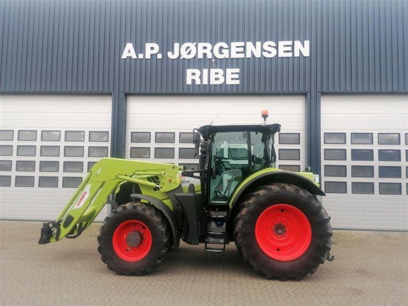 Traktor del tipo CLAAS ARION 650 CMATIC Frontlæsser, Gebrauchtmaschine en Ribe (Imagen 1)
