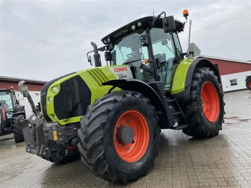 Traktor del tipo CLAAS ARION 650 CMATIC KUN 3900 TIMER!, Gebrauchtmaschine en Aalestrup (Imagen 1)
